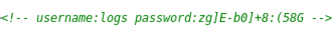 login_pass_in_source_code